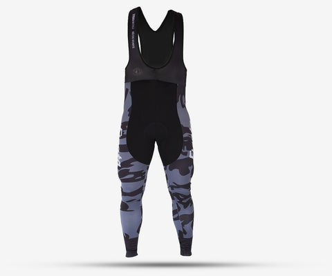 Camo cycling bib pants