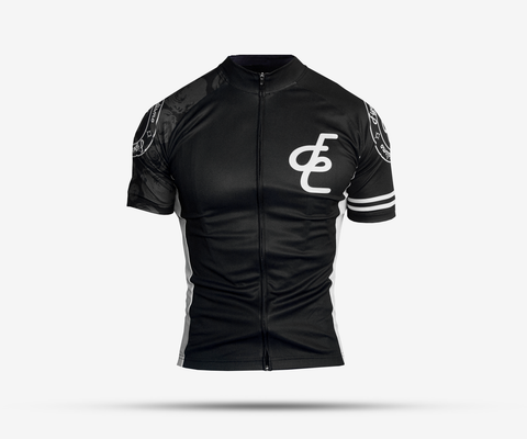 cycling jerseys for women in black and white
