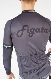 Short Sleeve Cycling Jersey Darkone Dark Gray