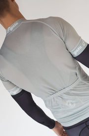 Short Sleeve Cycling Jersey Darkone Gray (Size S)