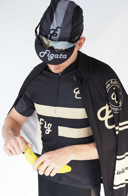 Figata Short Sleeve Cycling Jersey Old School