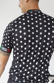 Short Sleeve Cycling Jersey Darkone Dots (Only size XS + S left)