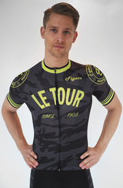 "Short Sleeve Cycling Jersey ""Le Tour"" Special Edition (Size S)"