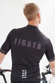 Short Sleeve Cycling Jersey Premium Black