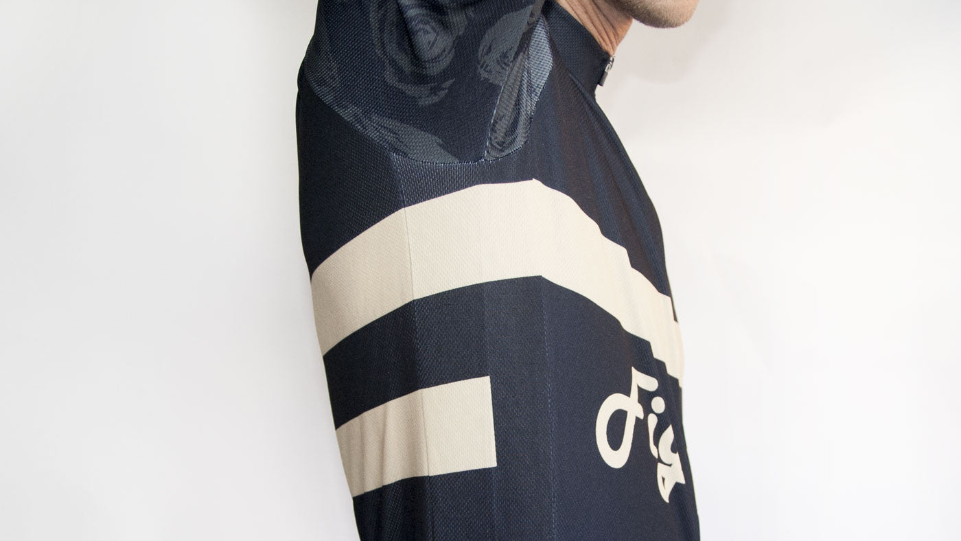 Figata Short Sleeve Old School Cycling Jersey