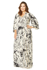 Rosaleen Dress WL Print - Space