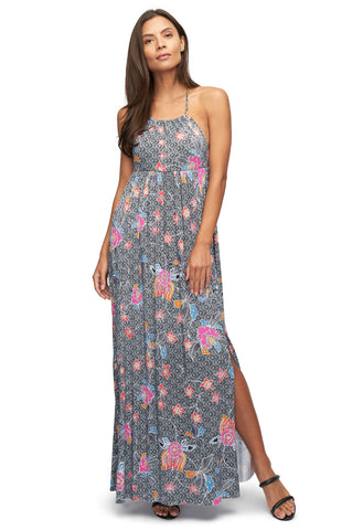 Trudee Dress Print - Island Flower