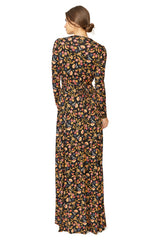 Long Sleeve Full Length Caftan - Folklore