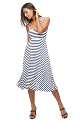 Valery Dress Print - Jupiter Stripe