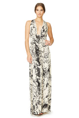 Dario Dress Print - Space