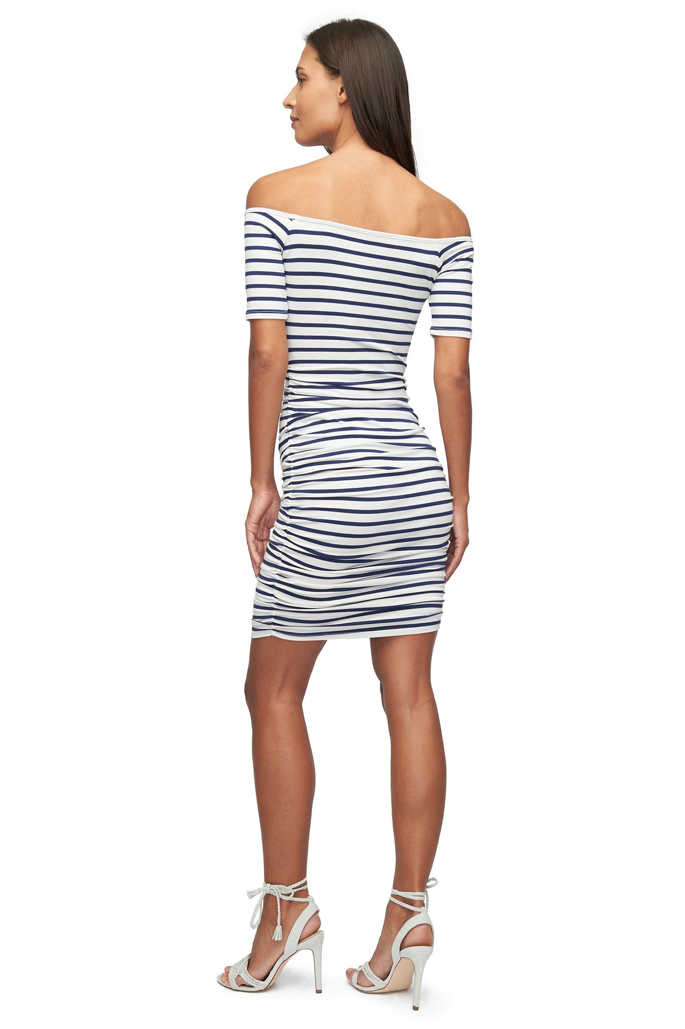 Mavery Dress Print - Jupiter Stripe