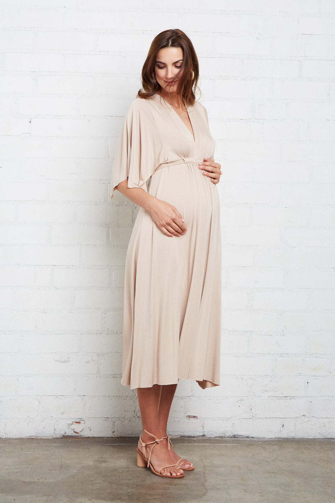 Mid-Length Caftan - Maternity