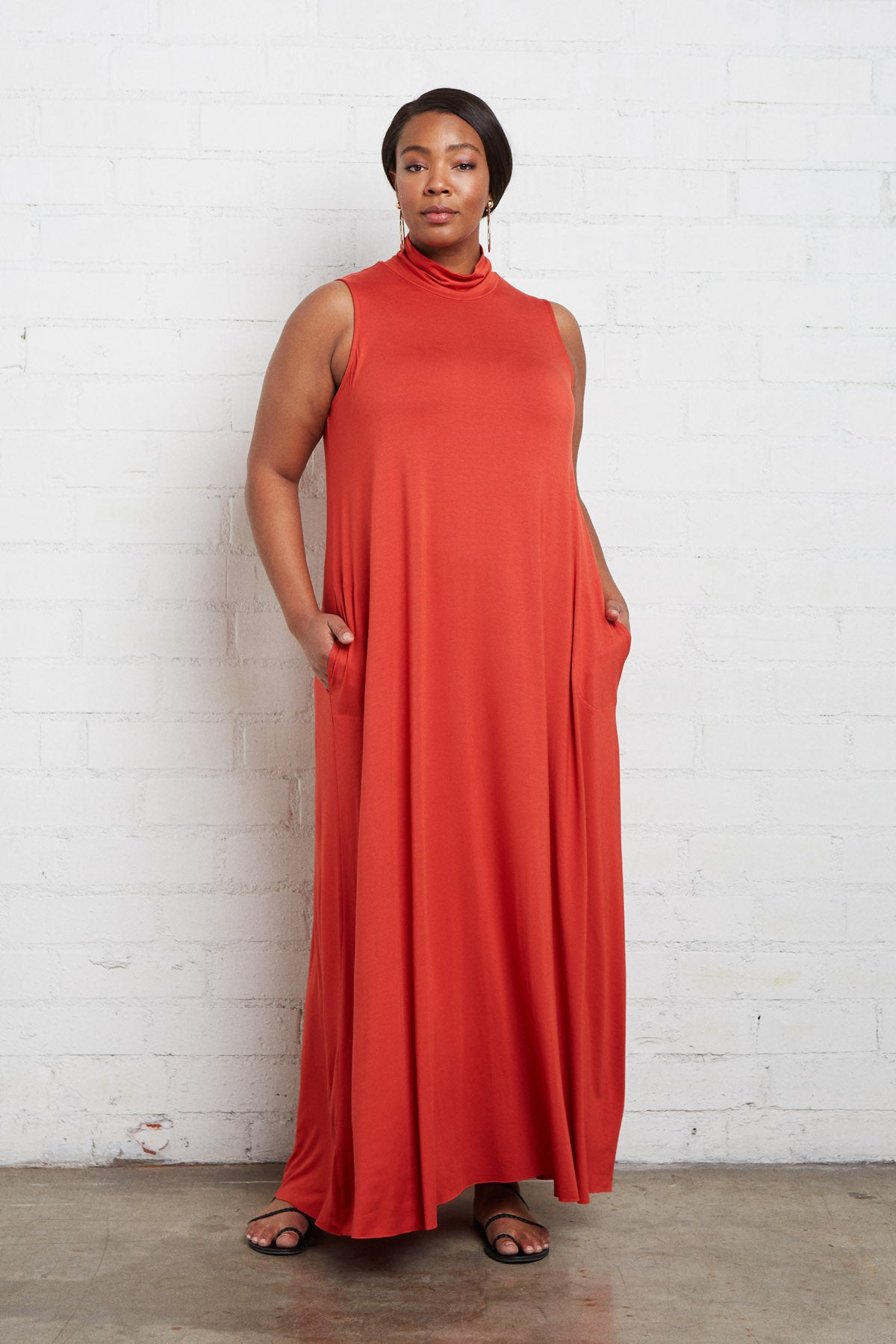 Cait Dress - Poppy, Plus Size