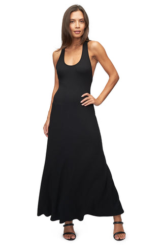 Rib Marsellus Dress - Black