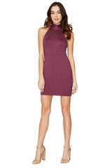 DEREK DRESS - CURRANT