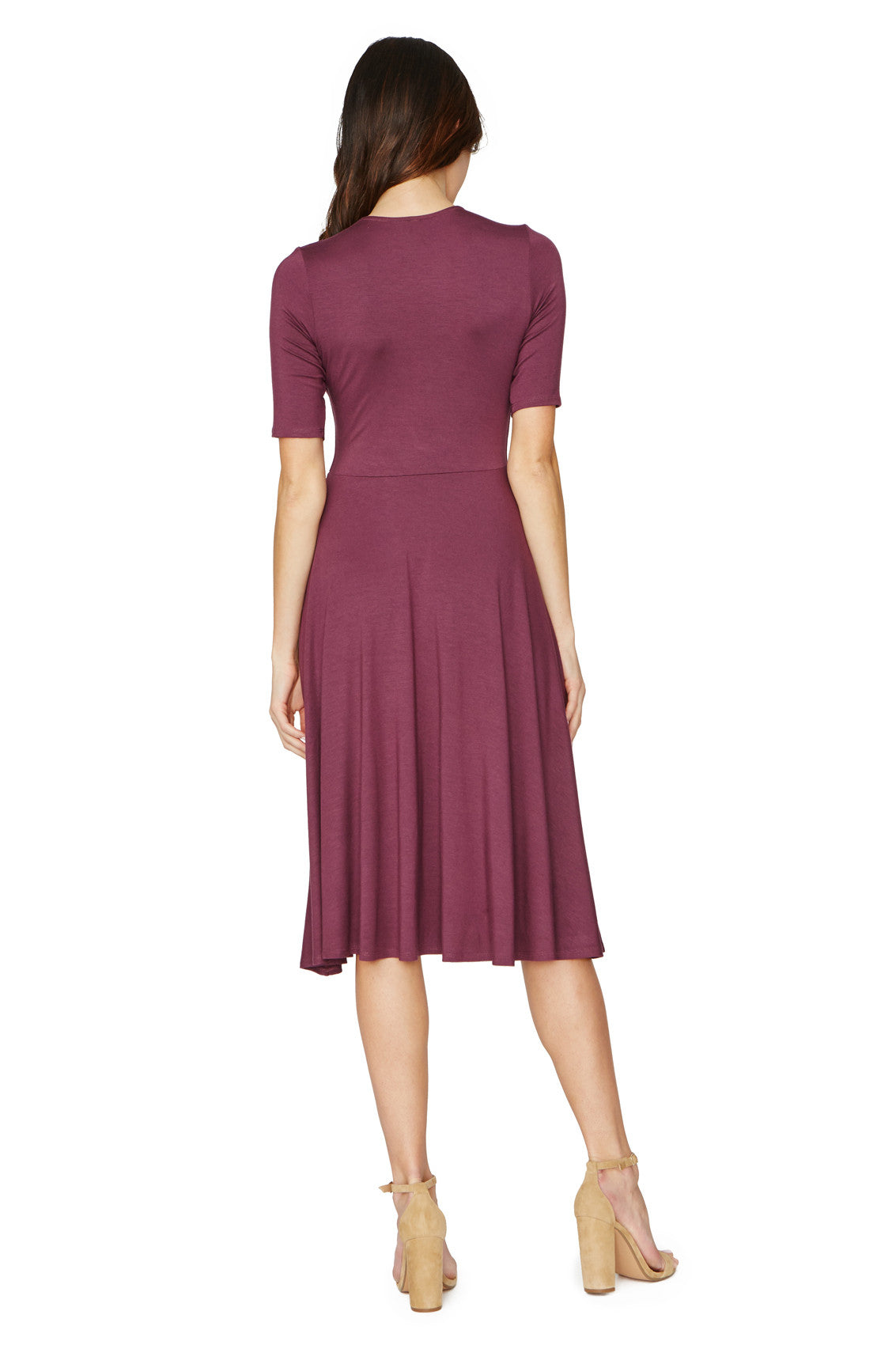 KIDADA DRESS - CURRANT