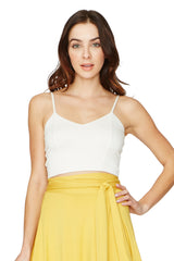 Bee Top - White
