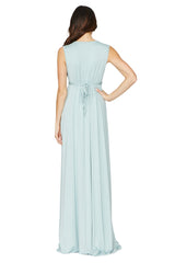 Long Sleeveless Caftan - Misty