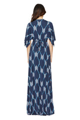 Long Caftan Dress Print - Java