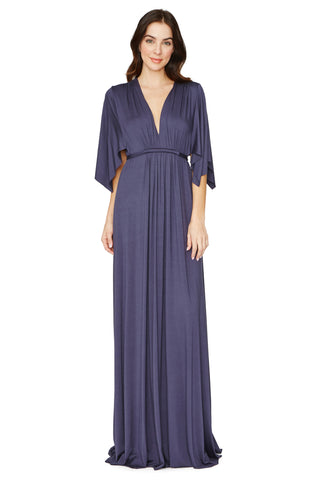 Long Caftan Dress - Eclipse