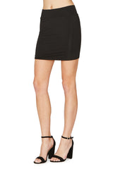 Bandage Mini Skirt - Black