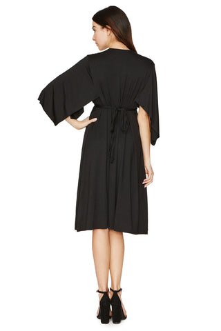 Short Caftan - Black