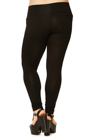SUPER LONG LEGGING WL - BLACK
