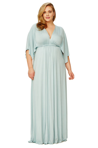 Long Caftan Dress WL - Misty