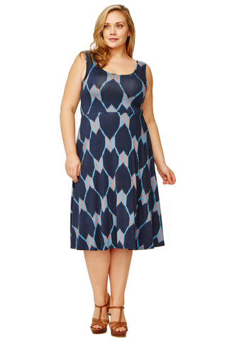Stasia Dress WL Print - Java
