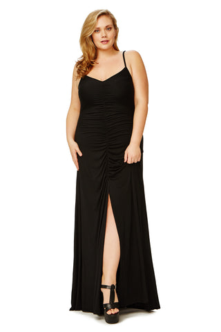 CHRISSY DRESS WL - BLACK