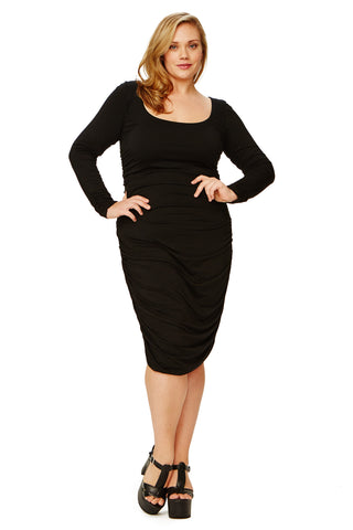 MISHA DRESS WL - BLACK