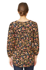Mathilde Top Print - Folklore