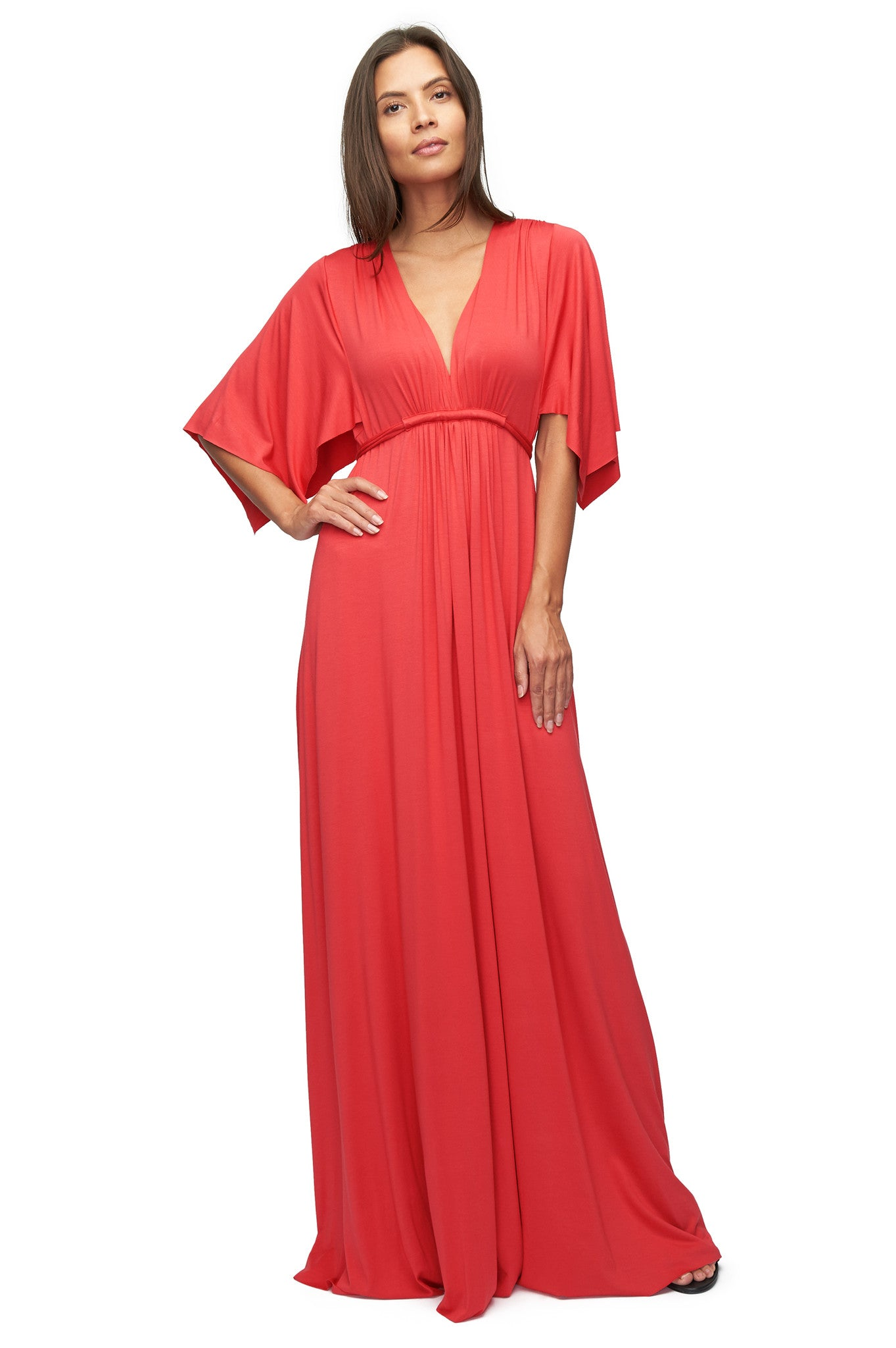 Long Caftan Dress - Foxy