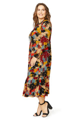 Kaemon Dress WL Print - Foliage