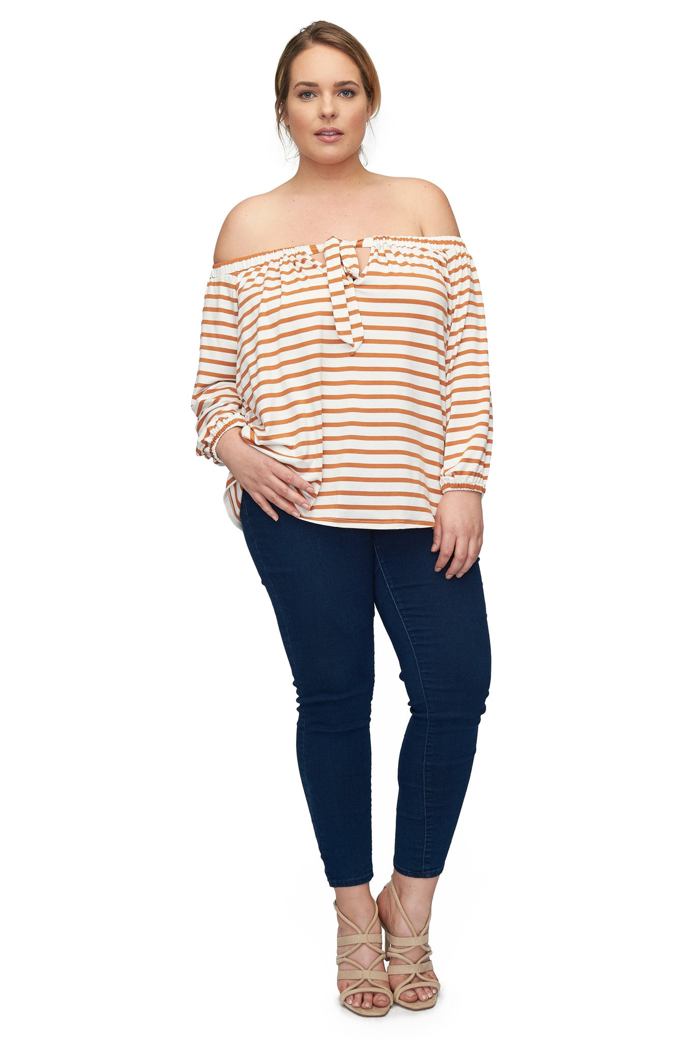 Marc Top WL Print - Flan Stripe