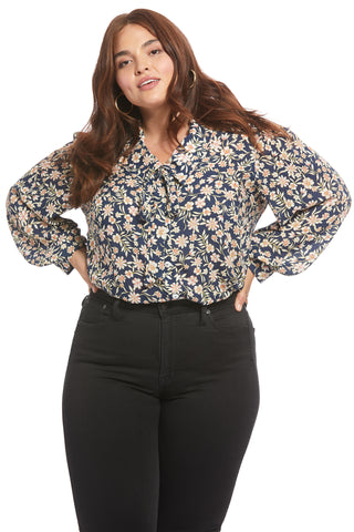 Pointelle Rayon Fable Top - Marguerite, Plus Size
