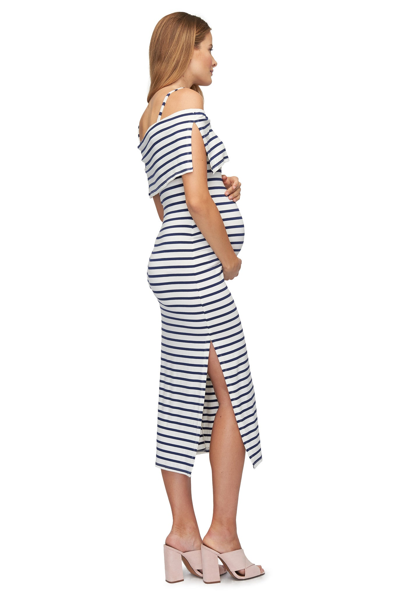 Pascal Dress Print - Jupiter Stripe