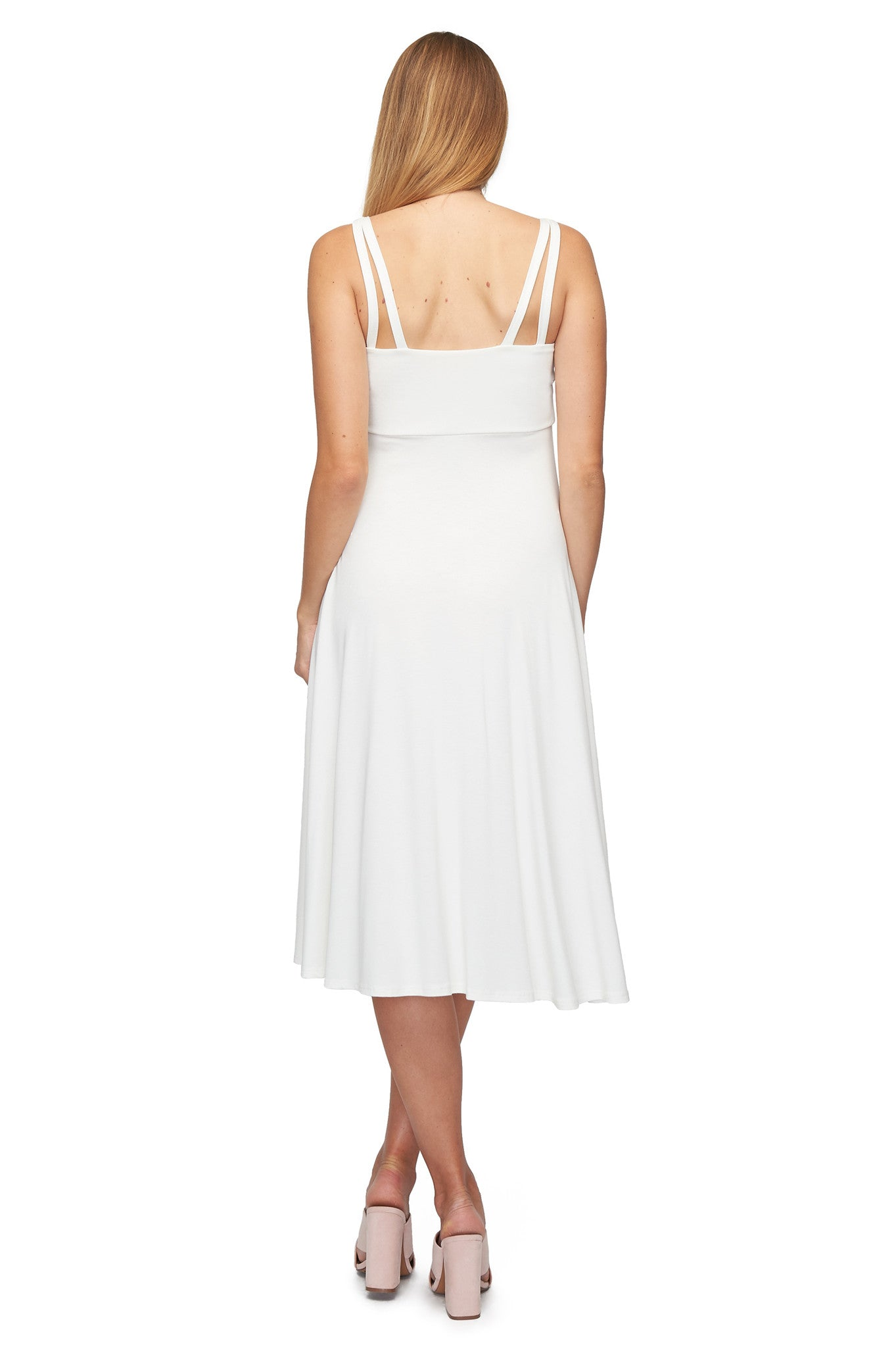 Valery Dress - White