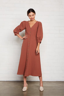 Linen Canvas Agnes Dress