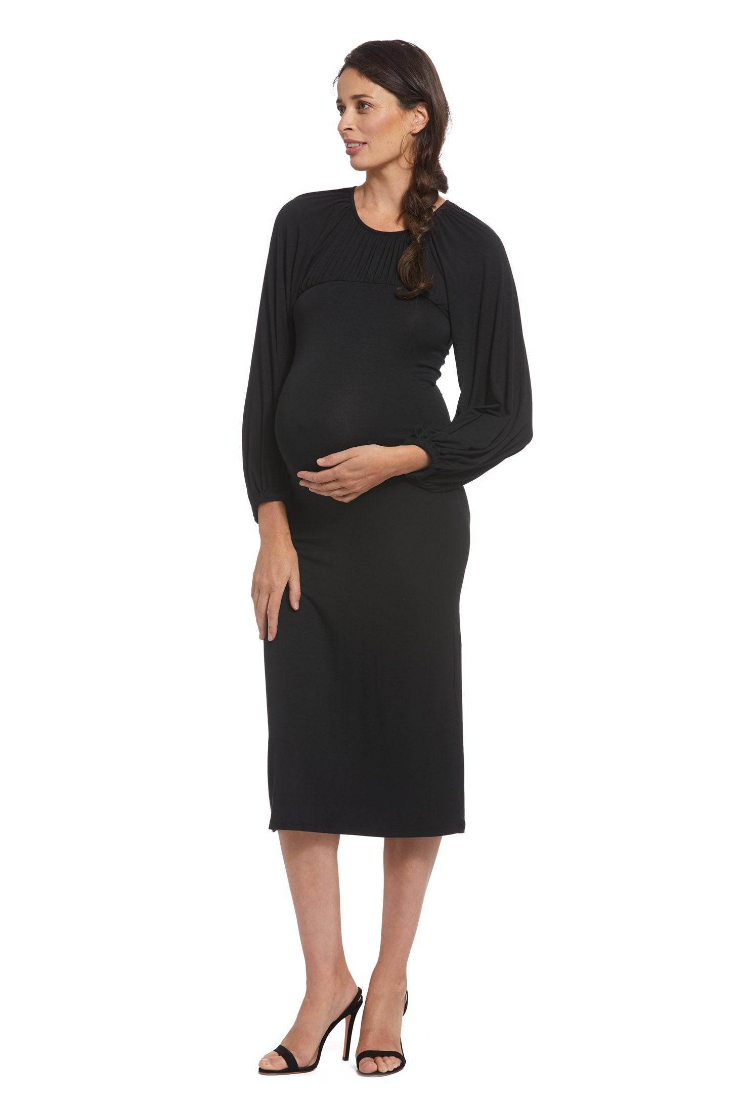 Alix Dress - Black, Maternity