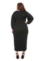 Alix Dress - Black, Plus Size