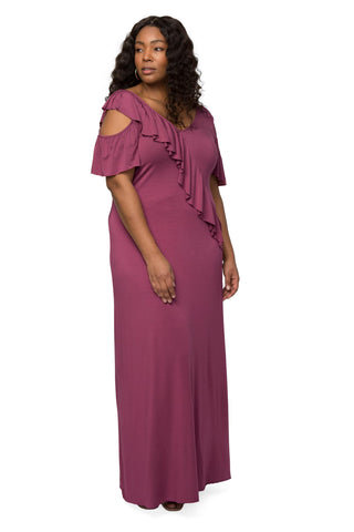 Amelia Dress - Dahlia, Plus Size