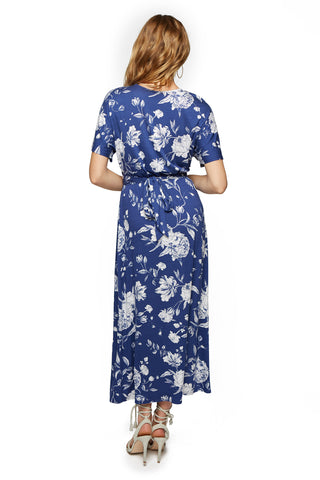 Asta Dress Print - Seaside Peony