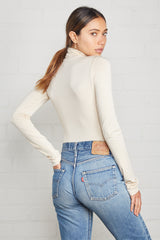 Basic Turtleneck - Cream