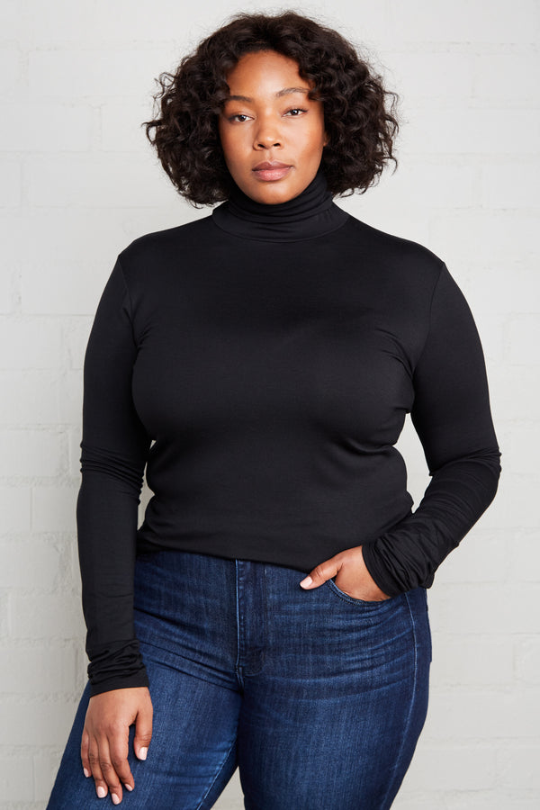 Basic Turtleneck - Plus Size