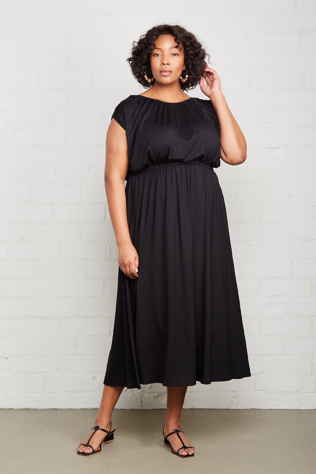Barlow Dress - Black, Plus Size