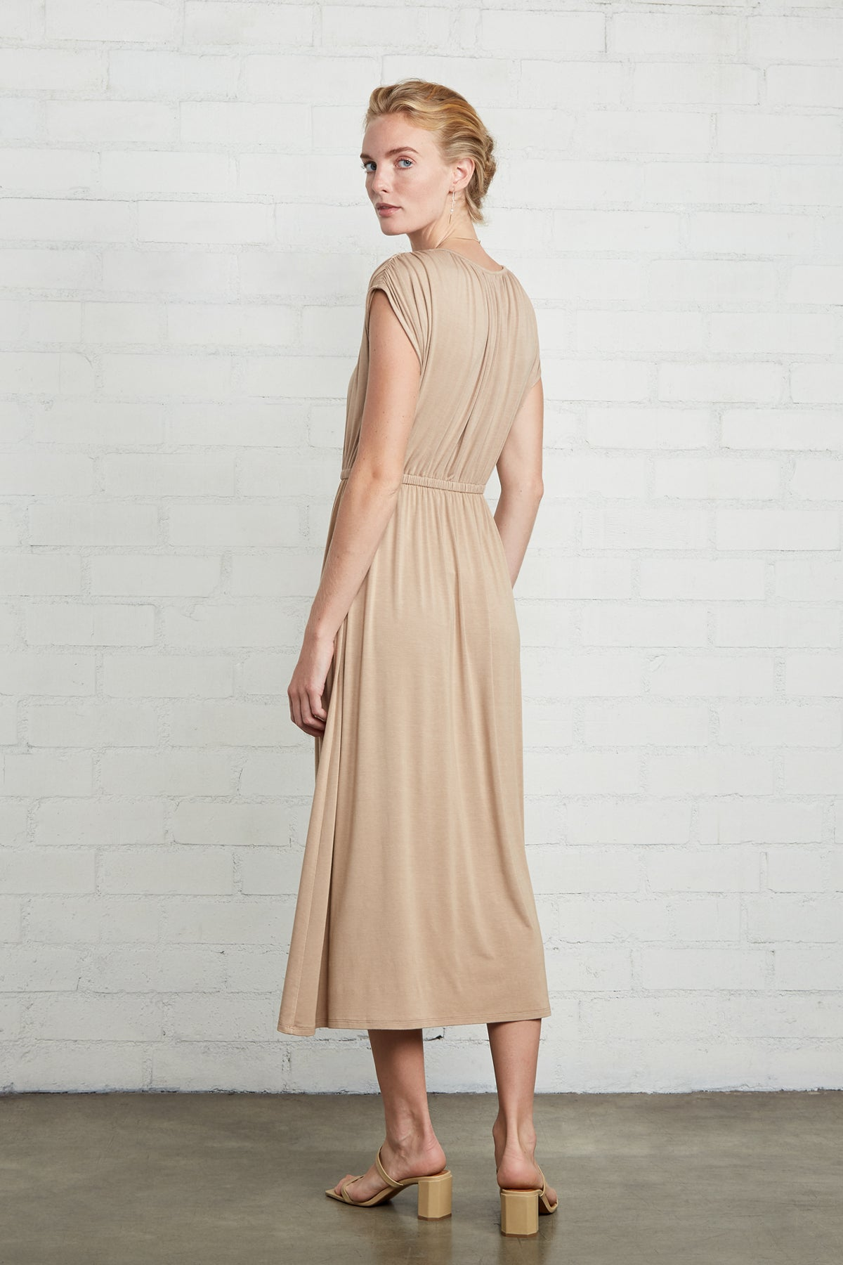 Barlow Dress - Toffee