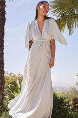Long Caftan Dress - Cloud