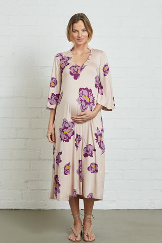 Corwin Dress - Peony, Maternity