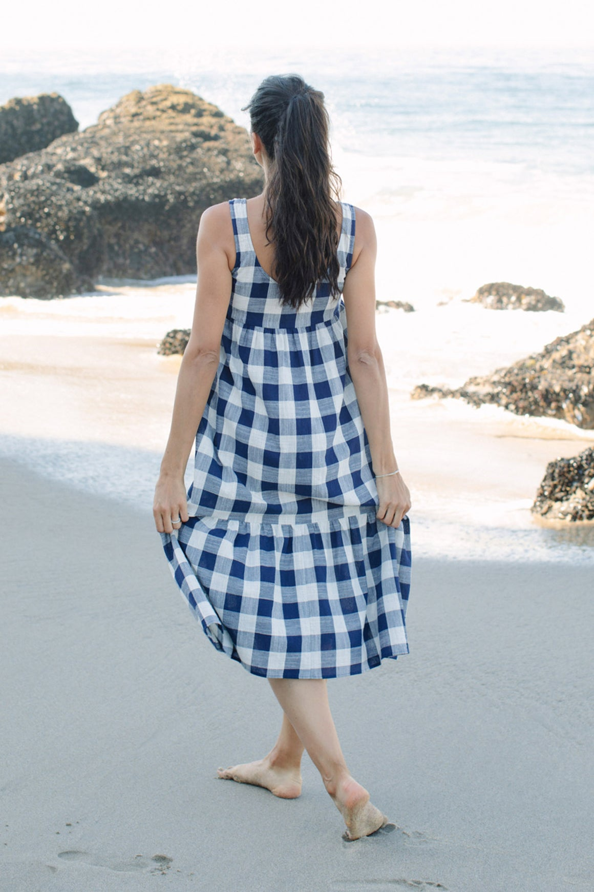Picnic Plaid Bri Dress - Maternity